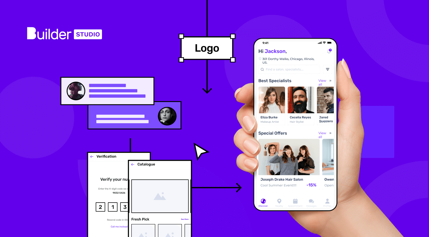 Make your own salon app with Studio Store
