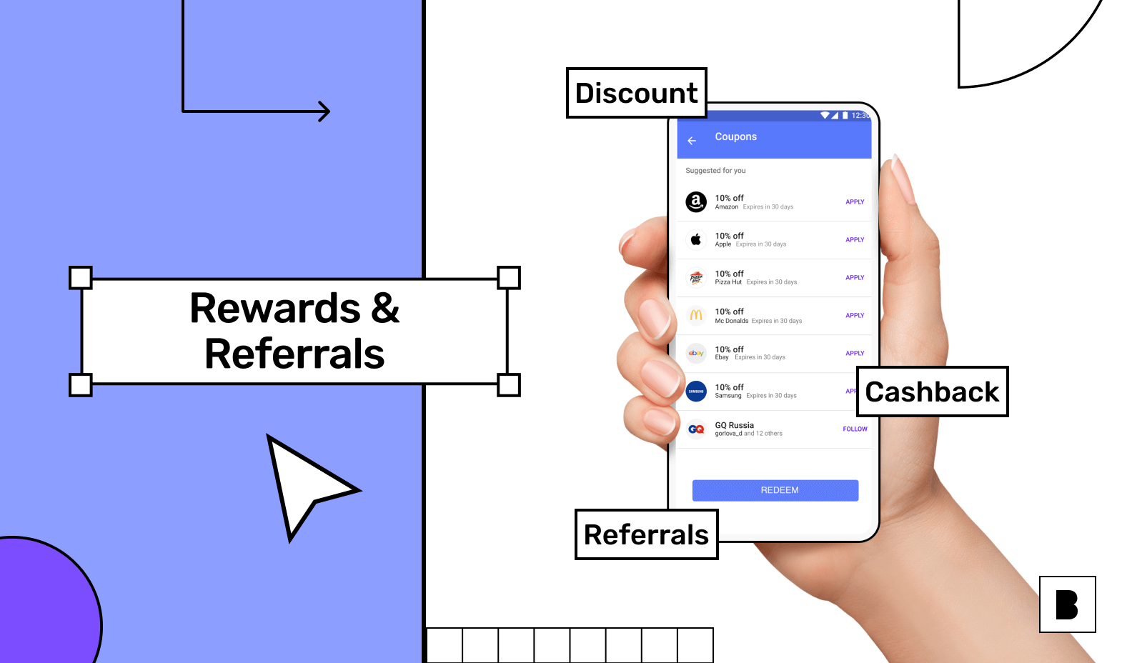 Rewards and referral to build customer loyalty
