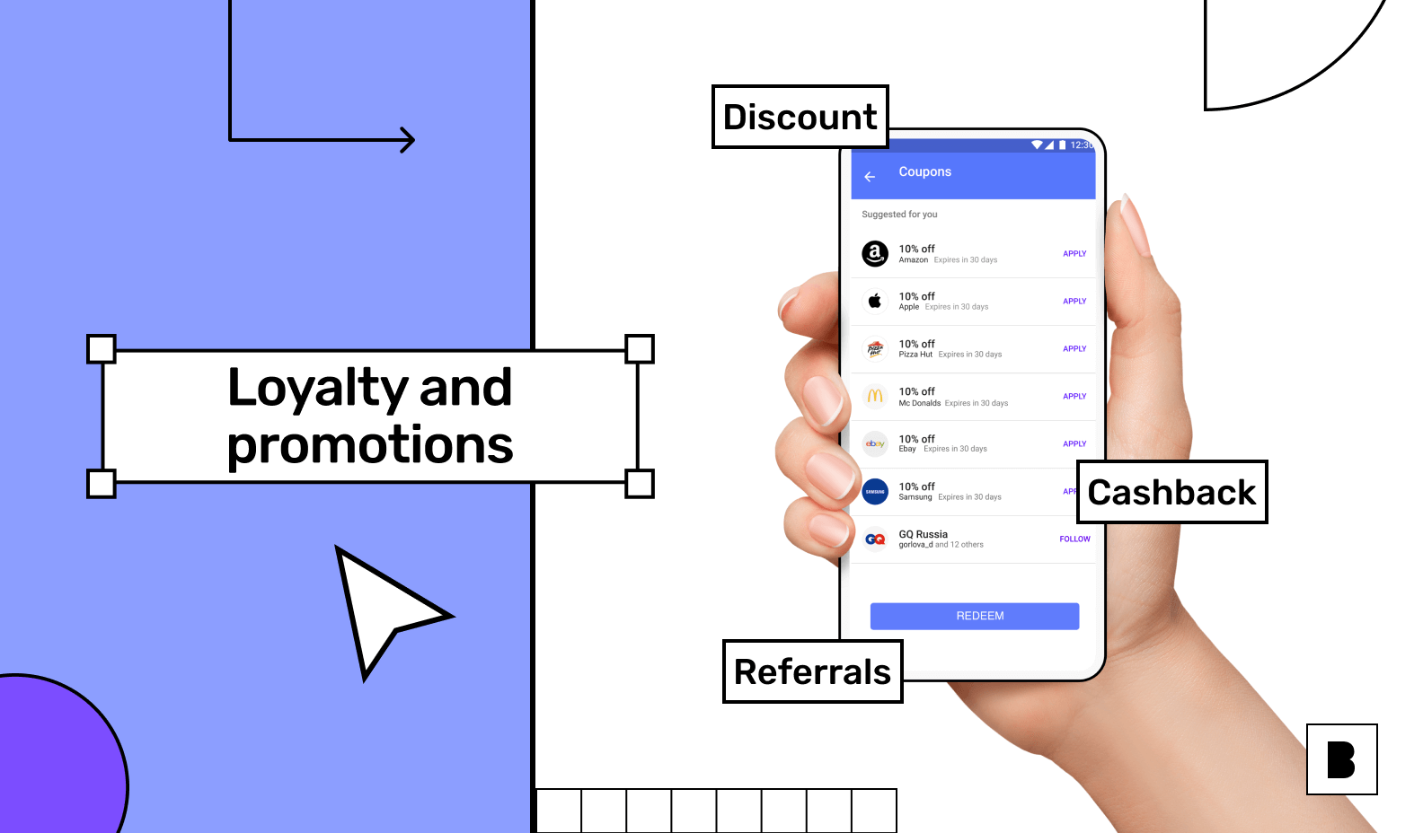 Loyalty and promotion with your mobile app