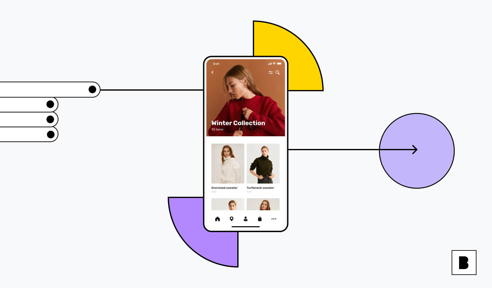 ecommerce app for fashion brands