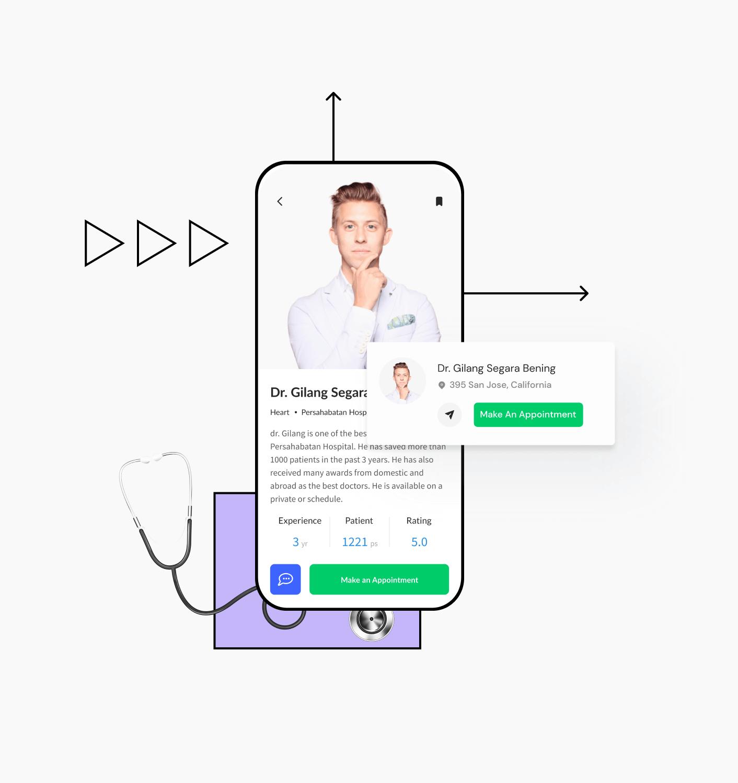 Build an app for doctors
