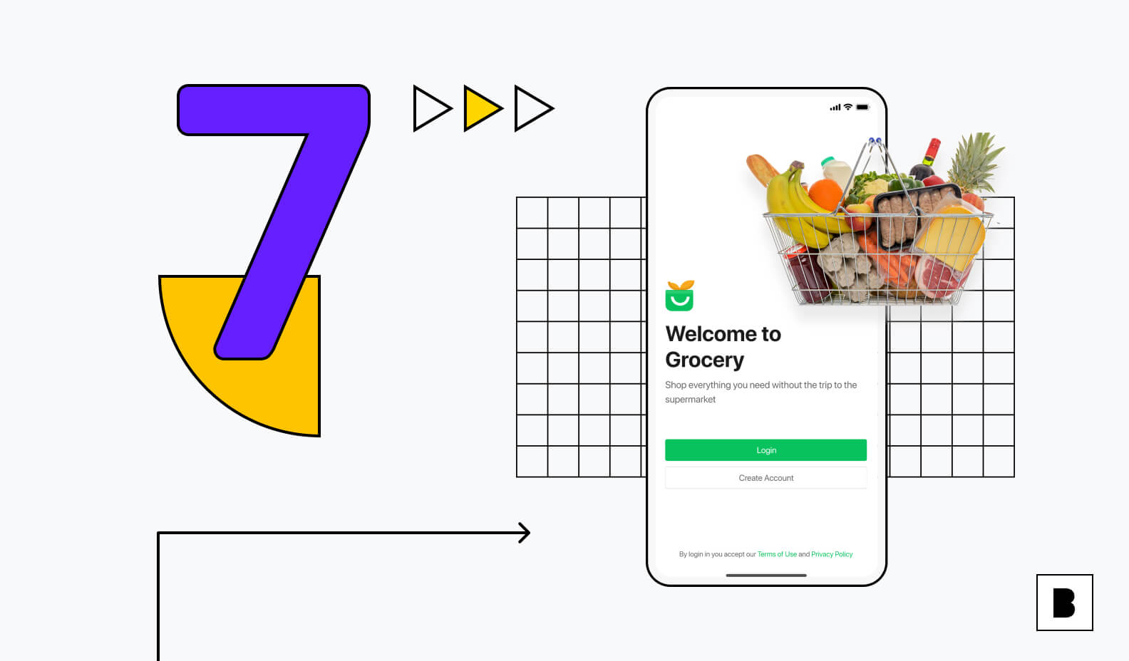 7 benefits of apps for grocery shops