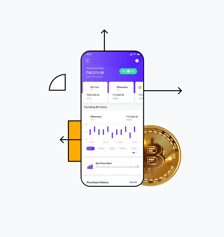 Blockchain app builder