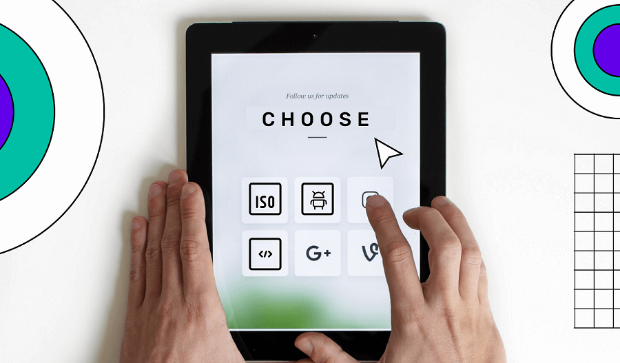 Choose app development platforms