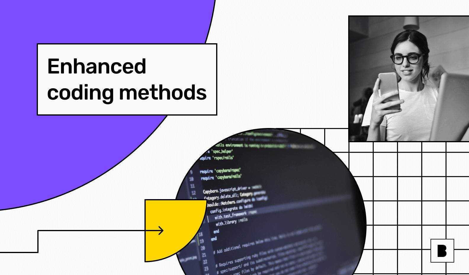 Enhanced coding method illustration