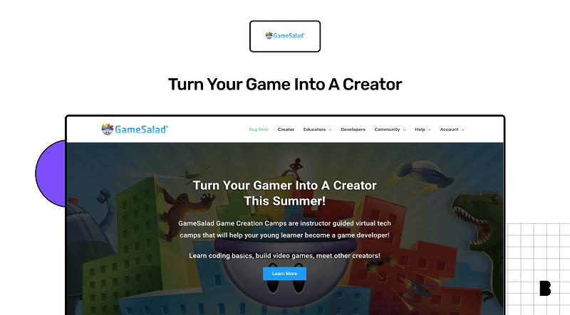 Gamesalad, a gaming app builder
