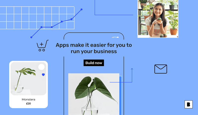 Why do small businesses need an app - an illustration