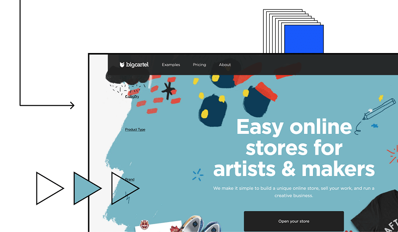 Big Cartel - free online store for artists and makers