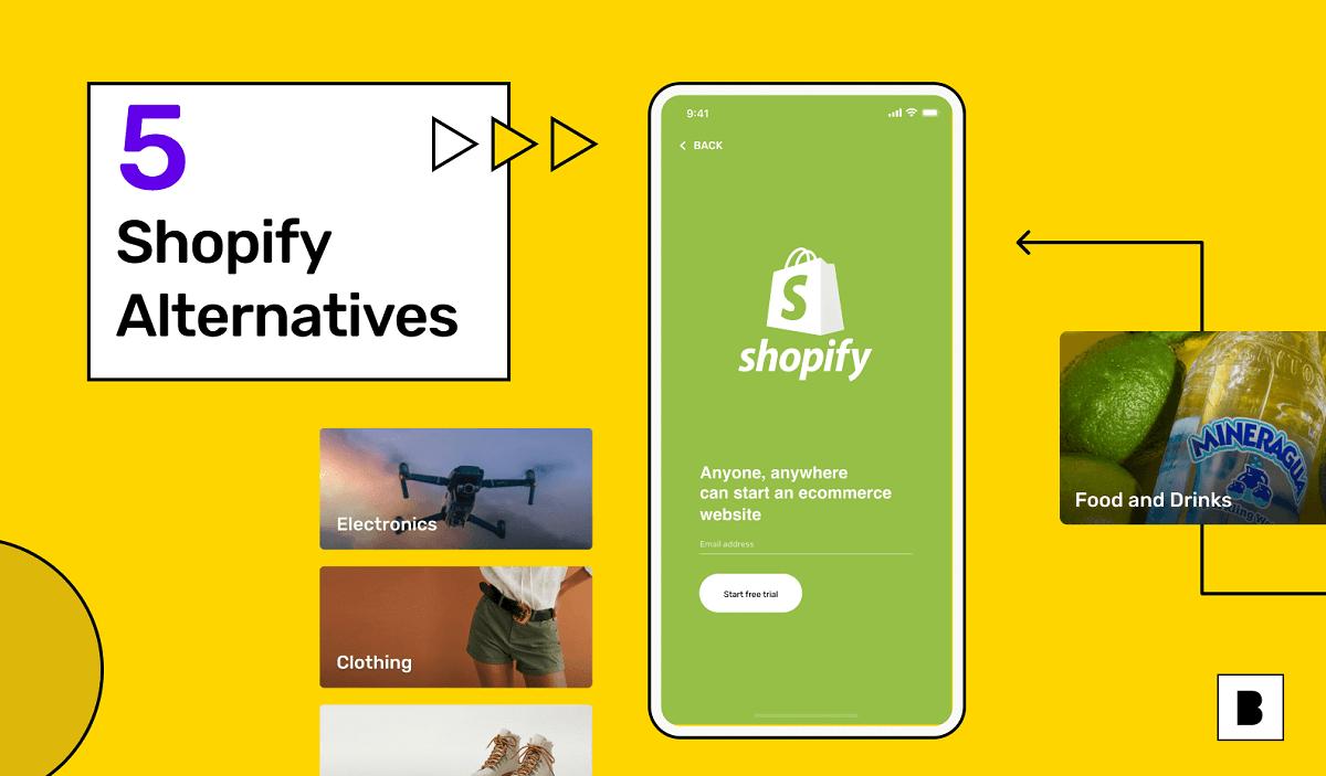 5 Shopify alternatives