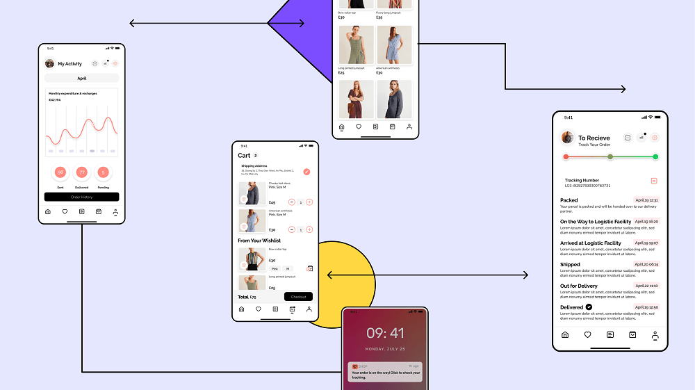 Research on mobile app features for UI/UX