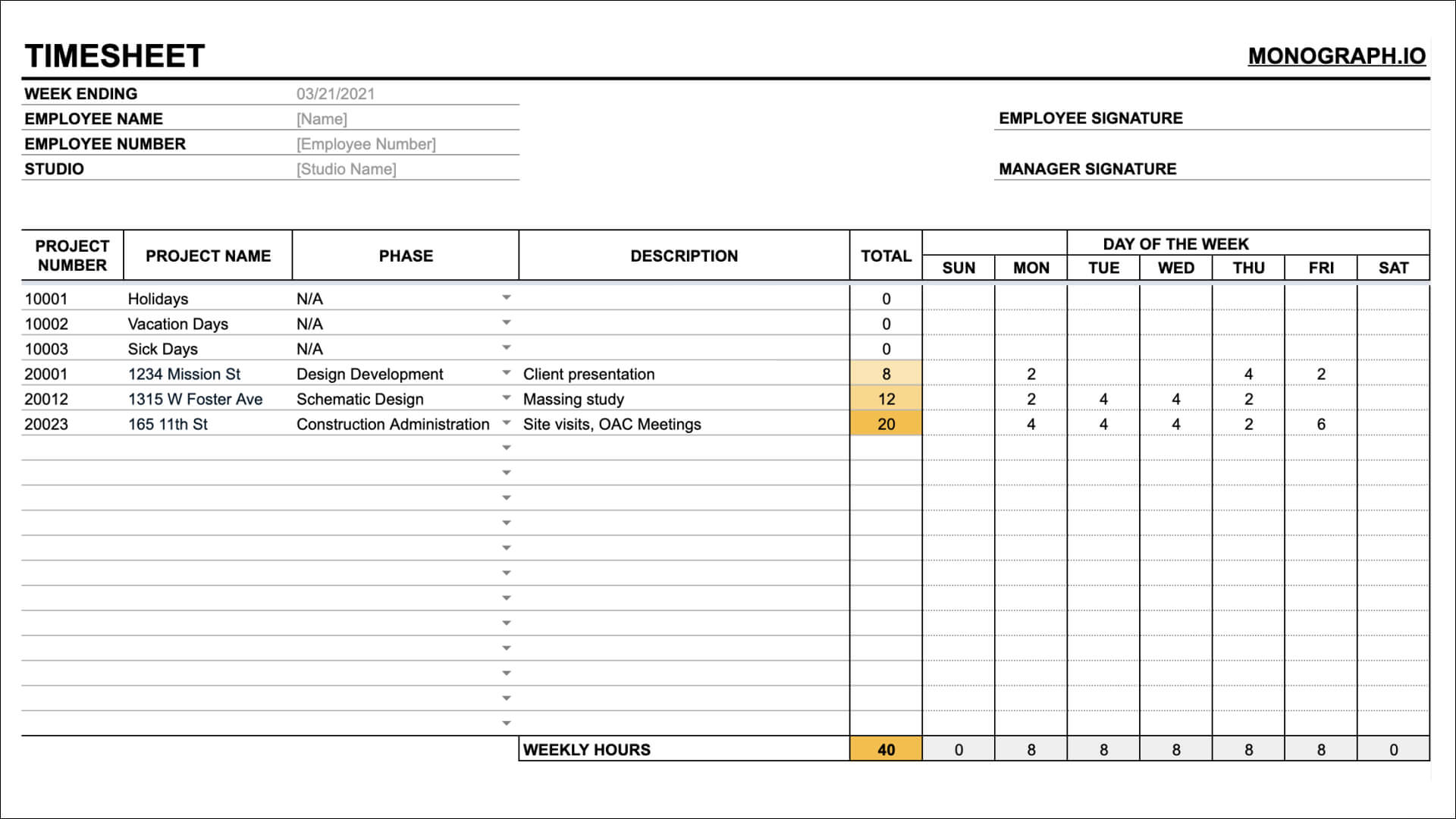 Practice Operations Template Library