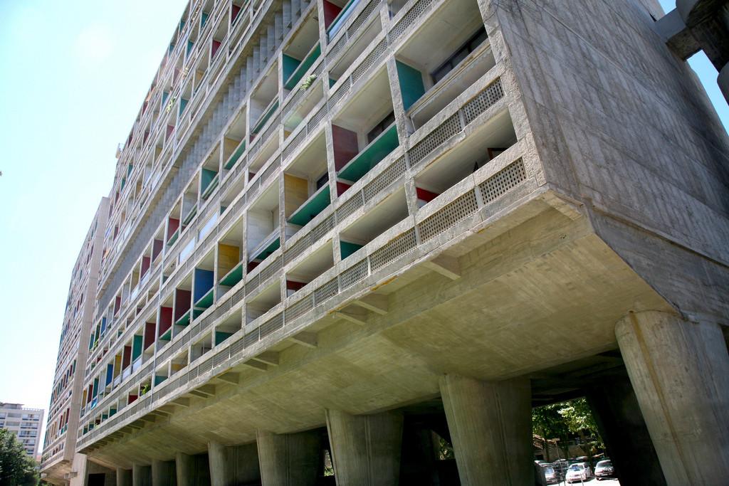 Unite d'Habitation de Marseille by Le Corbusier in 1952