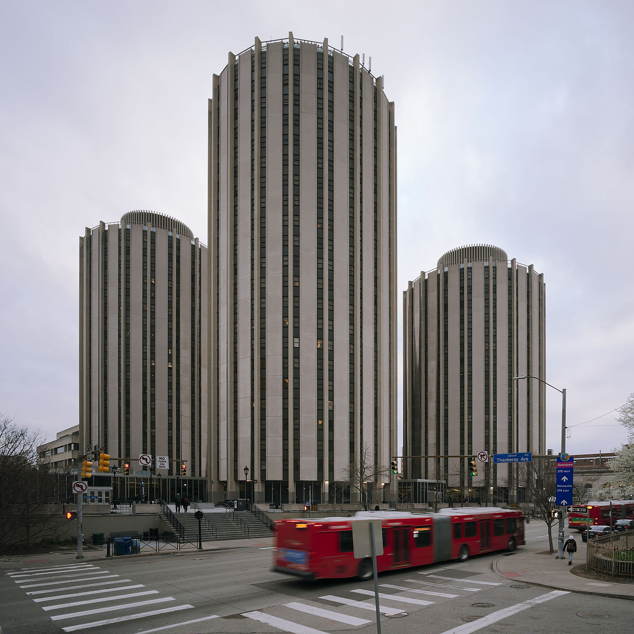 Litchfield Towers by Dettere and Richtey in 1963