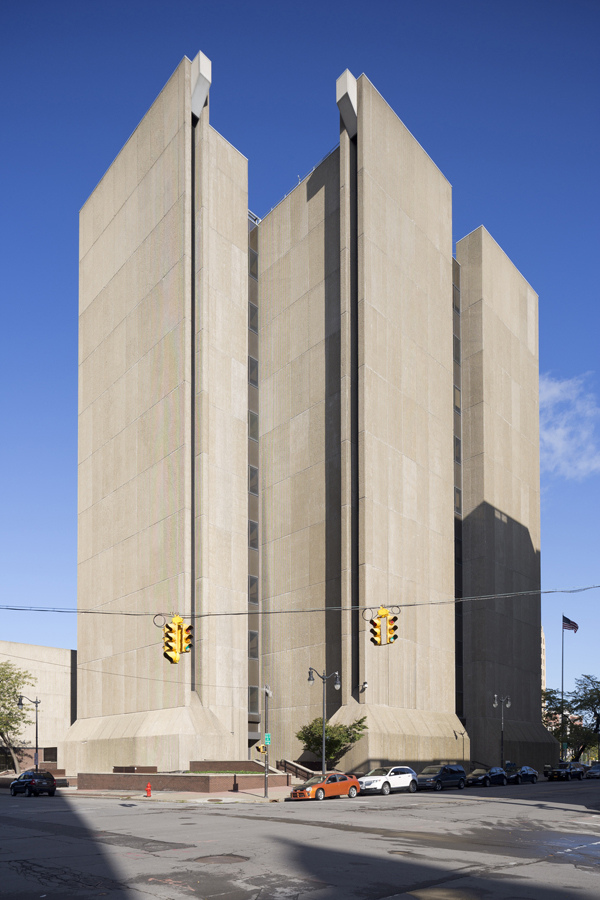 Photo of the Buffalo City Court Building