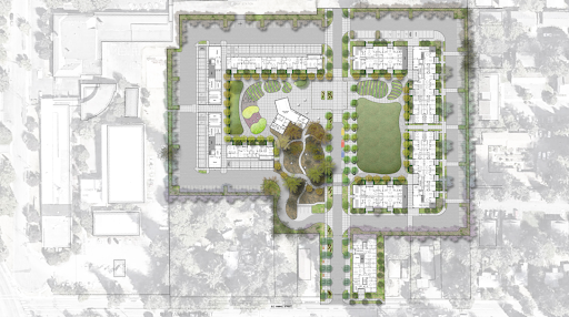 Schematic Design Site Plan at Rockwood 10