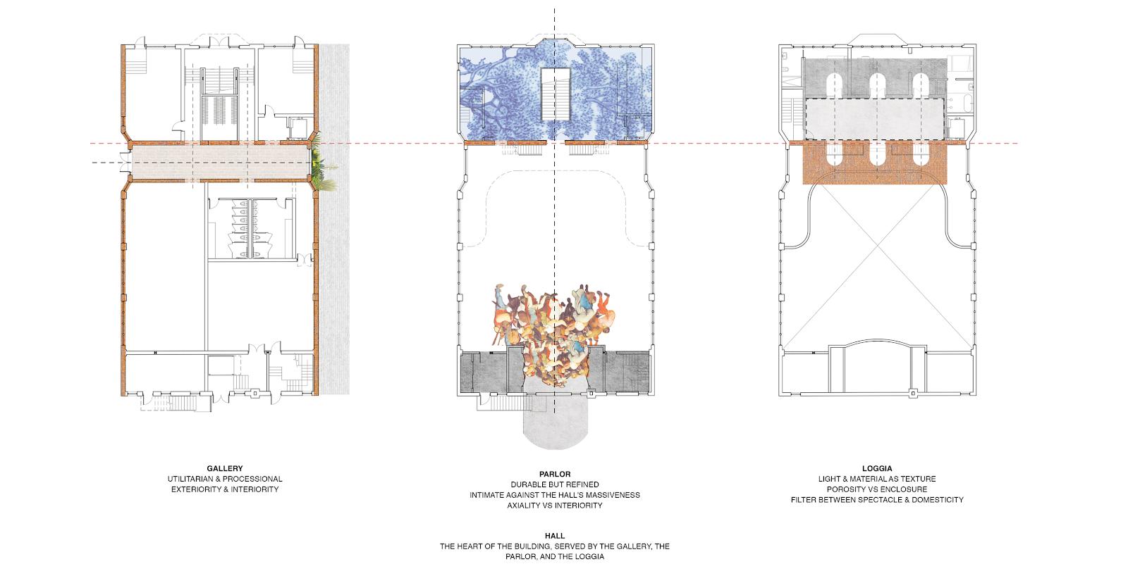 Schematic Design Example - Danish Brotherhood Hall