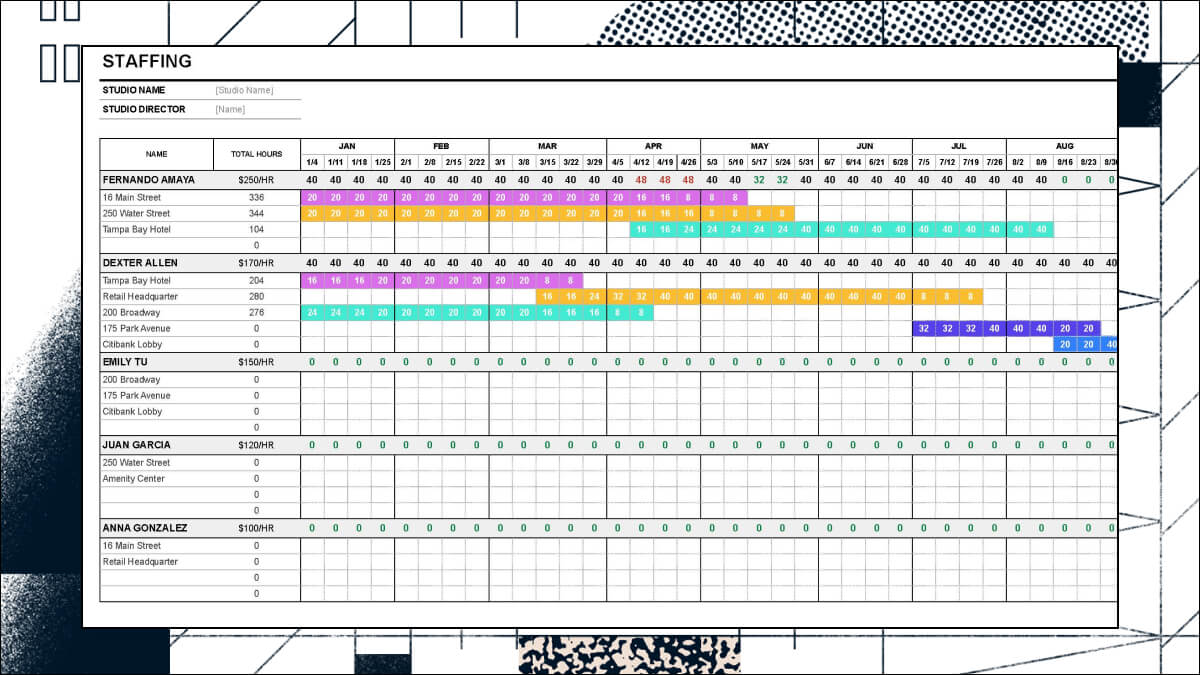 Project Staffing Architect Template