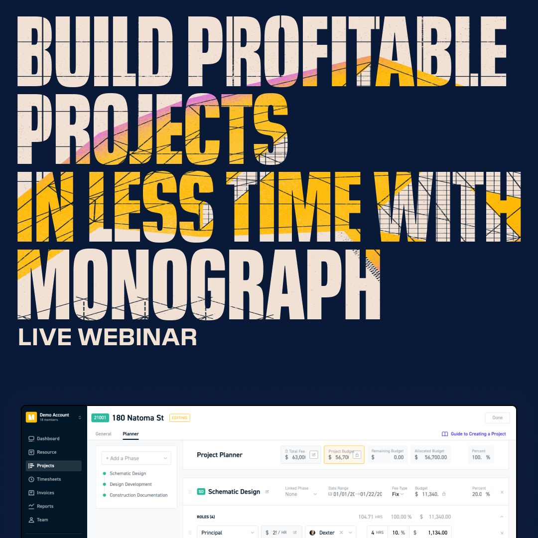 Build More Profitable Projects In Less Time With Monograph