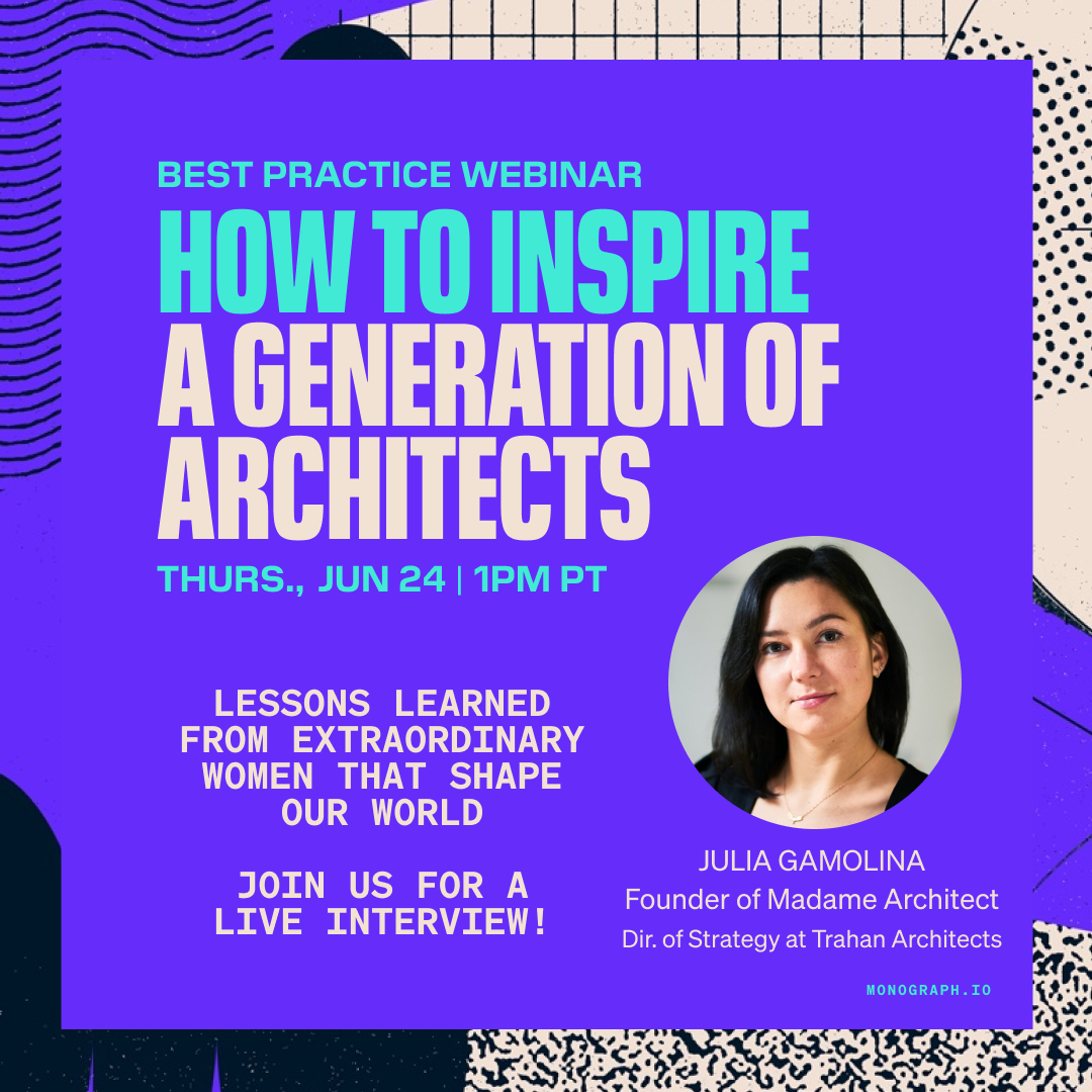 How To Inspire A Generation Of Architects