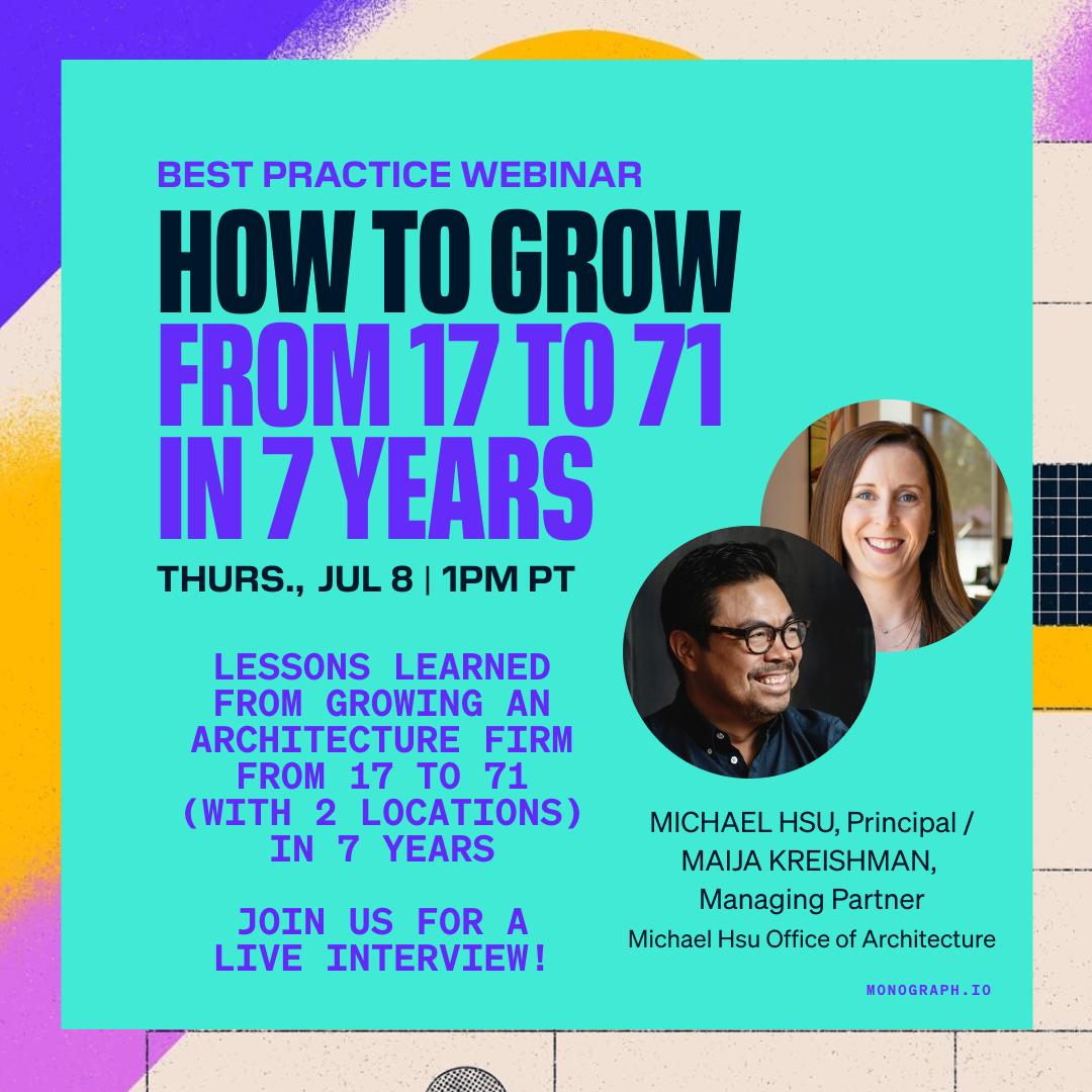 How to Grow from 17 to 71 In 7 Years - Michael Hsu & Maija Kreishman