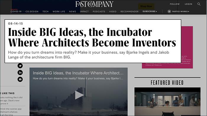 BIG Ideas Bjarke Ingels