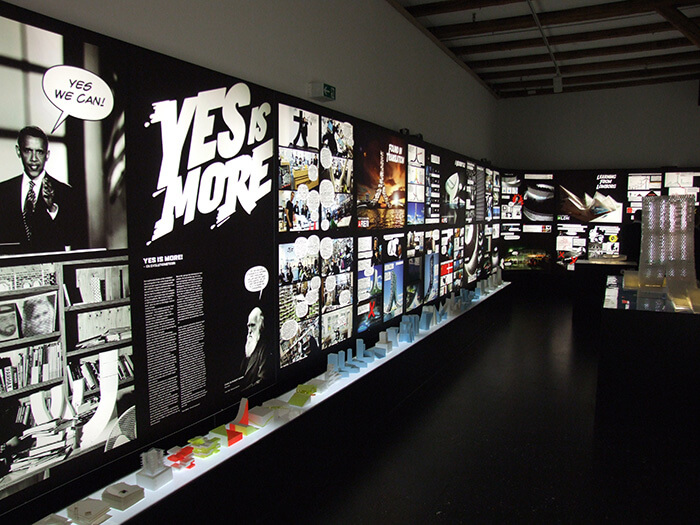 BIG Yes Is More exhibition at DAC 2009