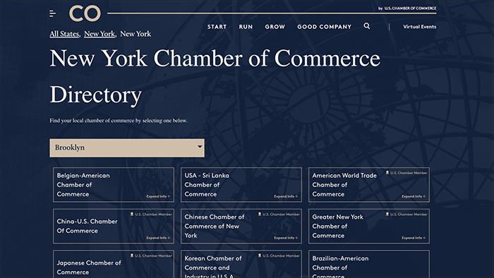 Link to Local Chamber of Commerce