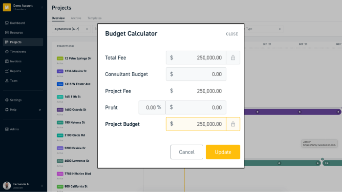Set your research and development budget