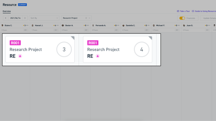 Staff your team for R&D projects with Monograph Resource