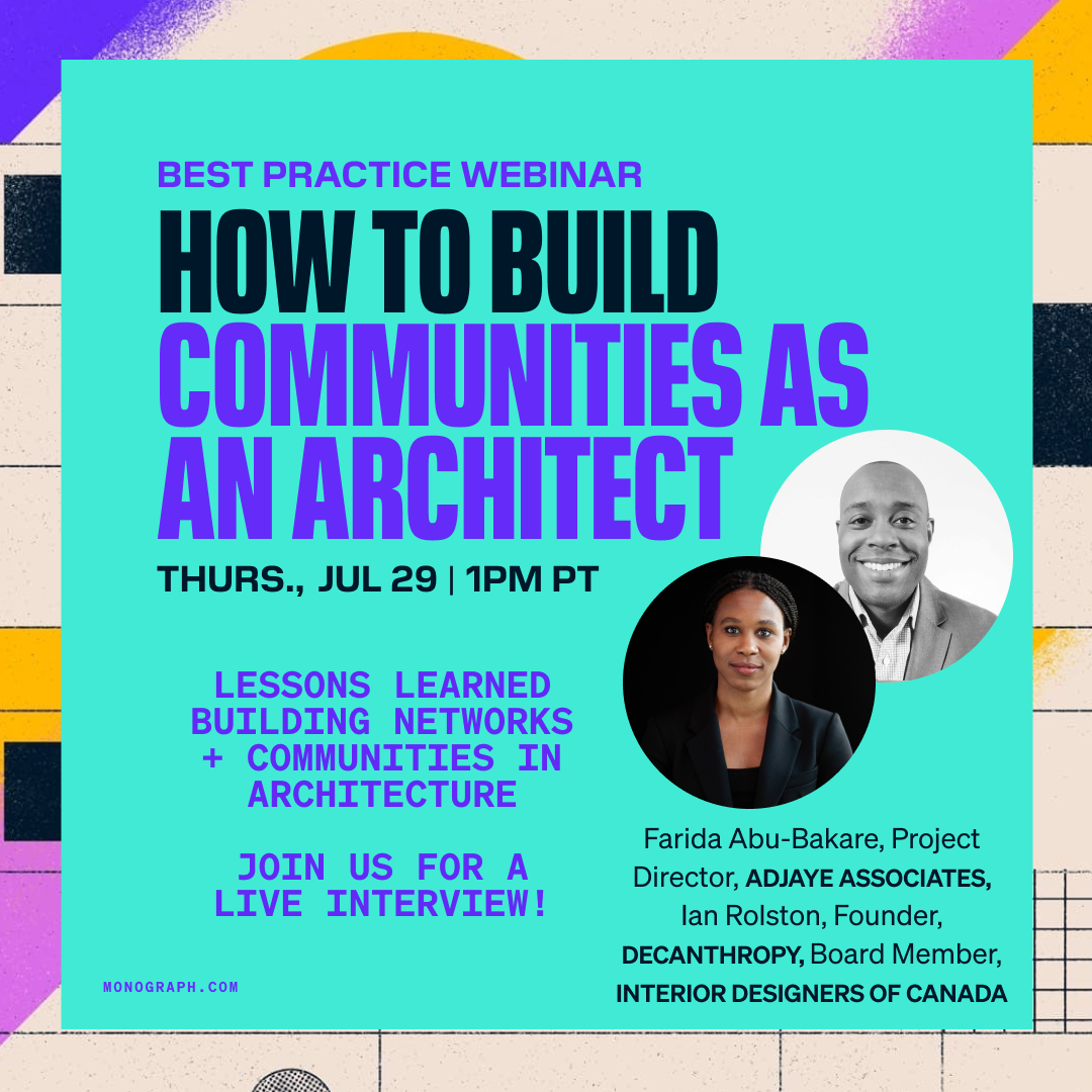 How to Build Communities as an Architect (w/ Farida Abu-Bakare of Adjaye Associates)