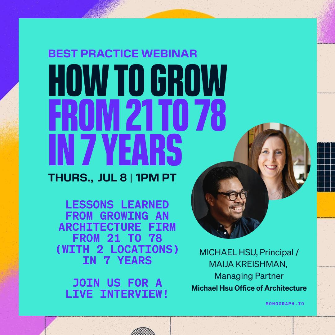 How to Grow from 21 to 78 In 7 Years - Michael Hsu & Maija Kreishman