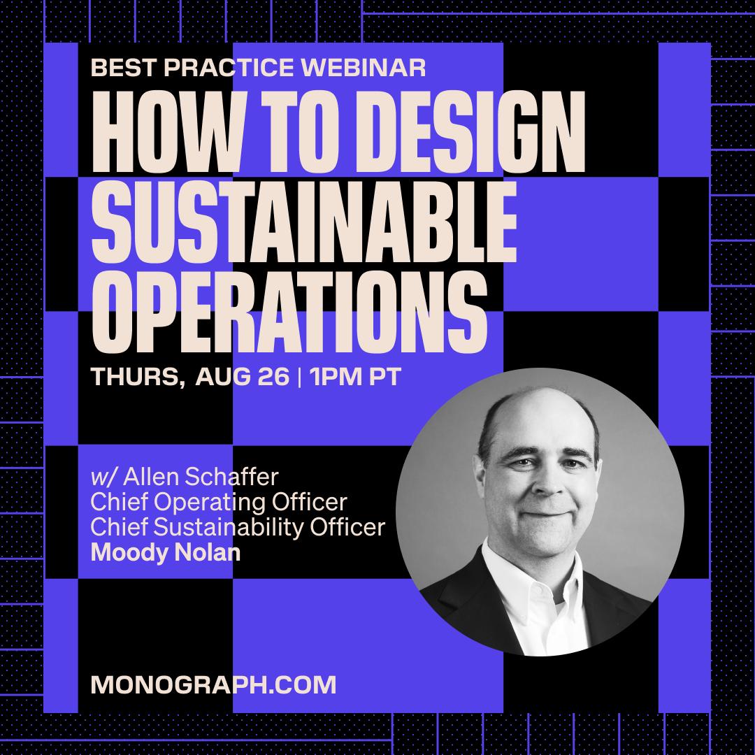 Moody Nolan: How To Design Sustainable Operations (w/ Allen Schaffer)