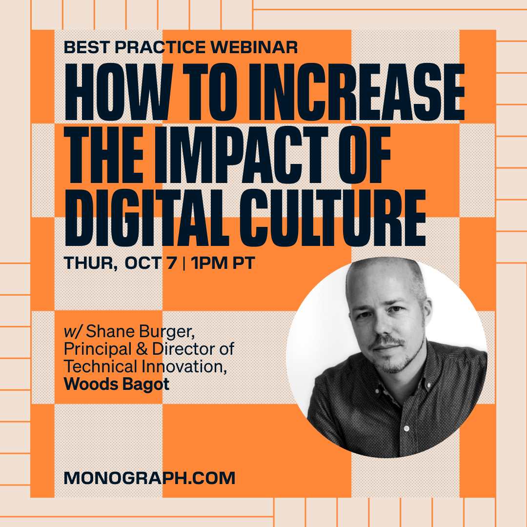 Woods Bagot: How to Increase the Impact of Digital Culture (w/ Shane Burger)