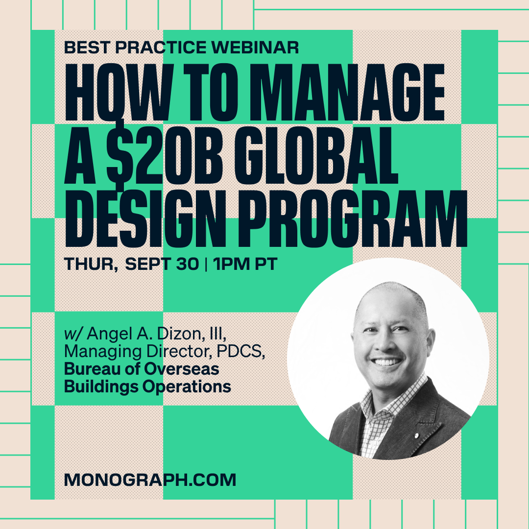 OBO: How To Manage A $20B Global Design Program (w/ Angel A. Dizon, III)