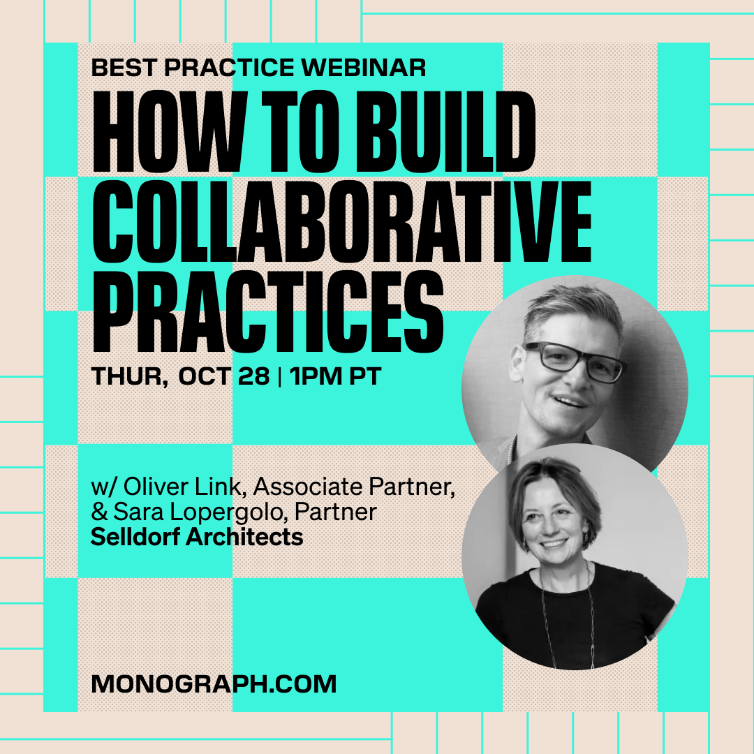 Selldorf Architects: How To Build Collaborative Practices (w/ Sara Lopergolo, Oliver Link)