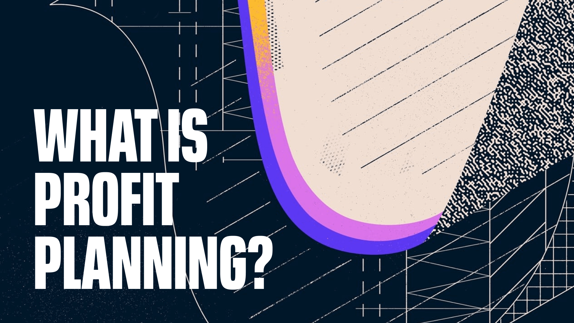 What is Profit Planning?