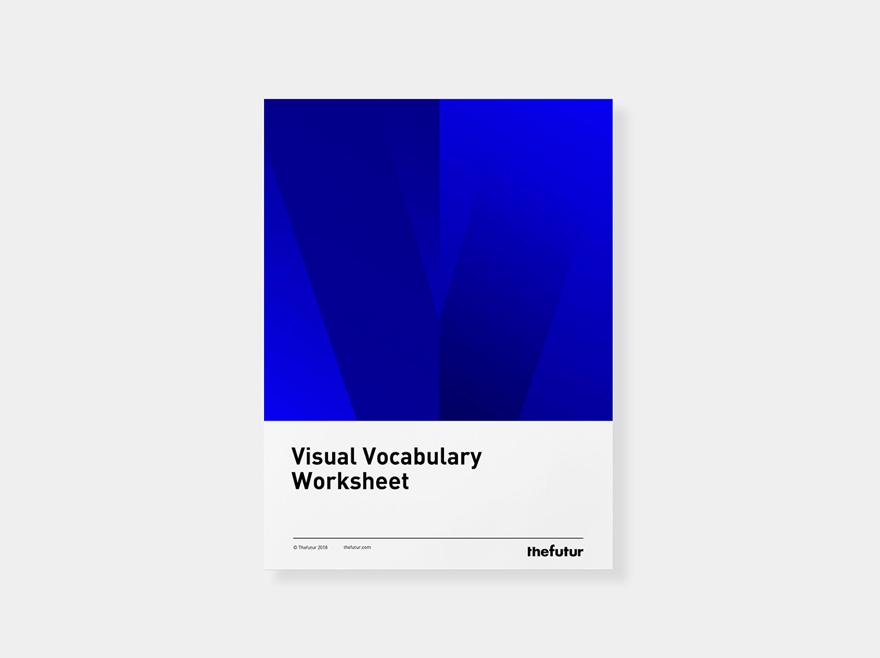 Visual Vocabulary Worksheet