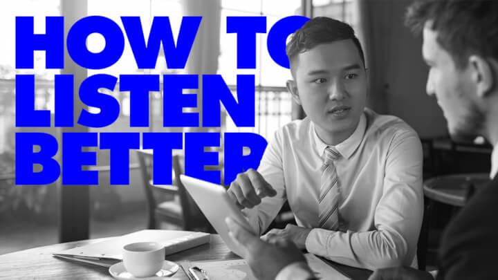 如何成为一个伟大的倾听者