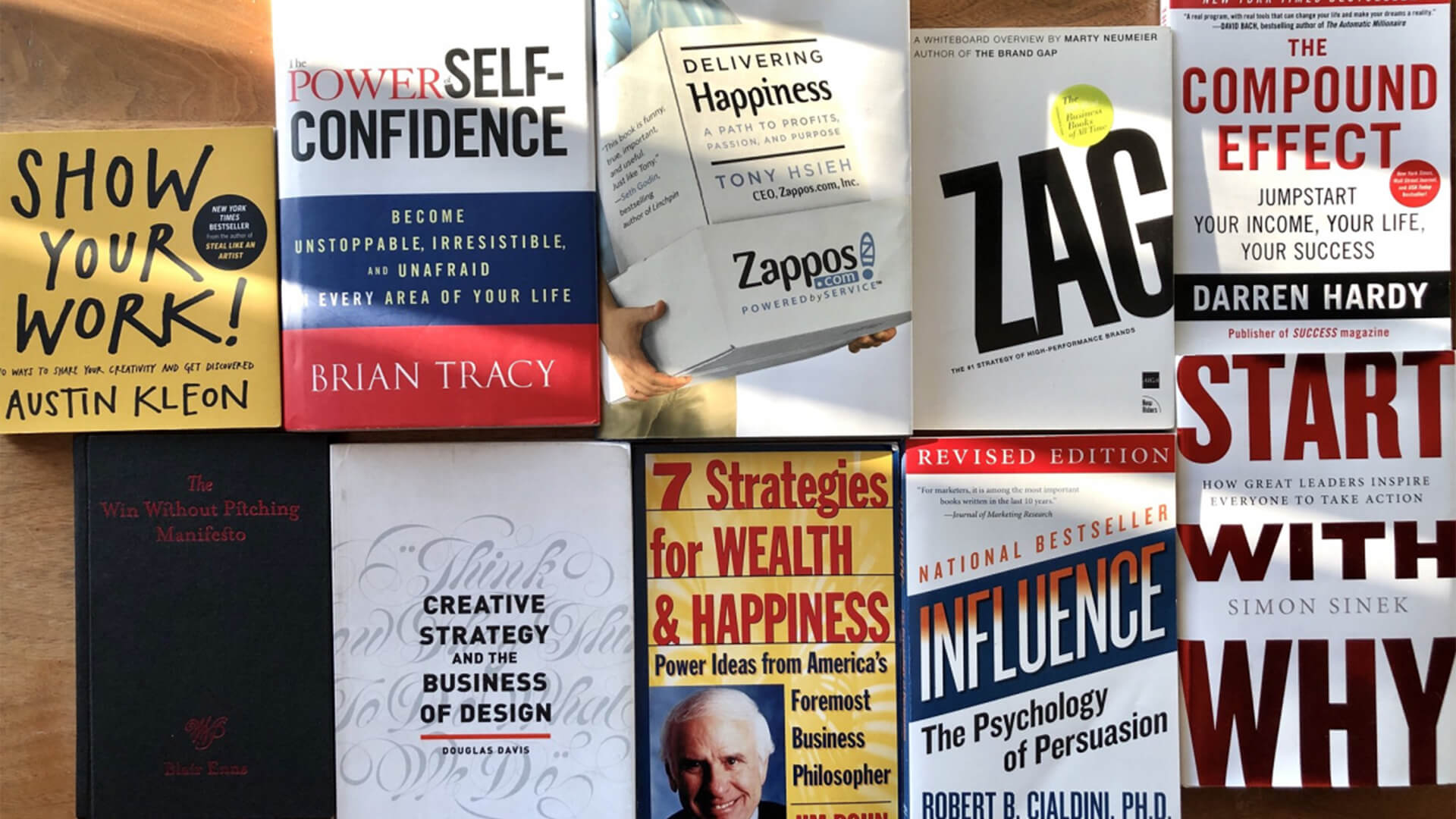 Ten Business Books All Creatives Need to Read