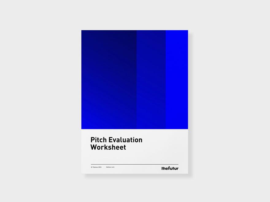 Pitch Evaluation Worksheet