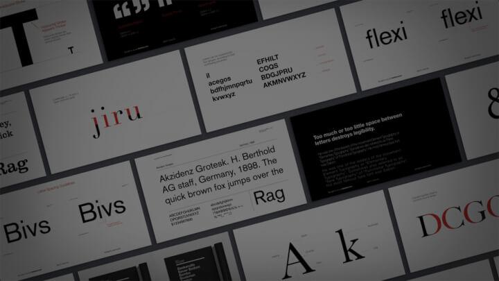 学习字体设计基础
