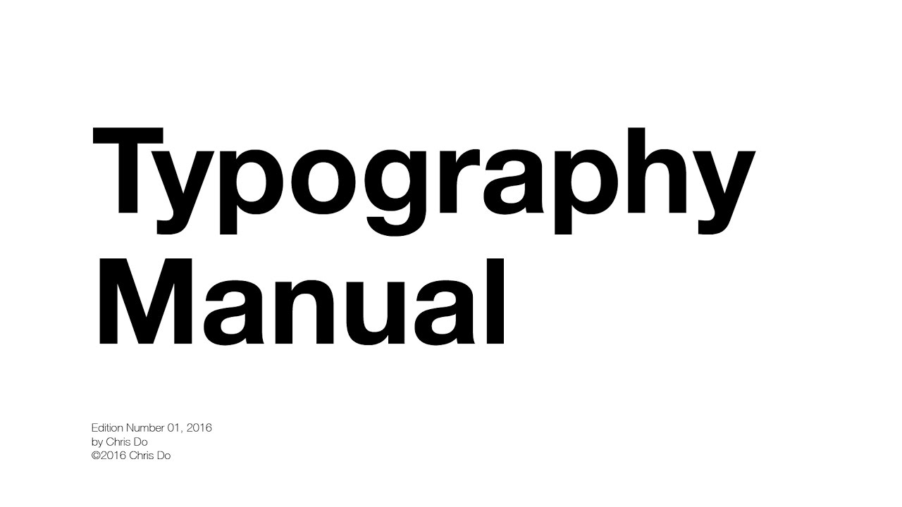 10 Rules To Help You Rule Typography