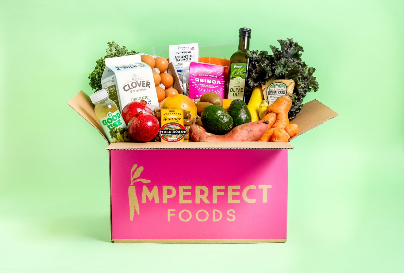 Get fresh, organic food delivered to your door with Imperfect Foods.