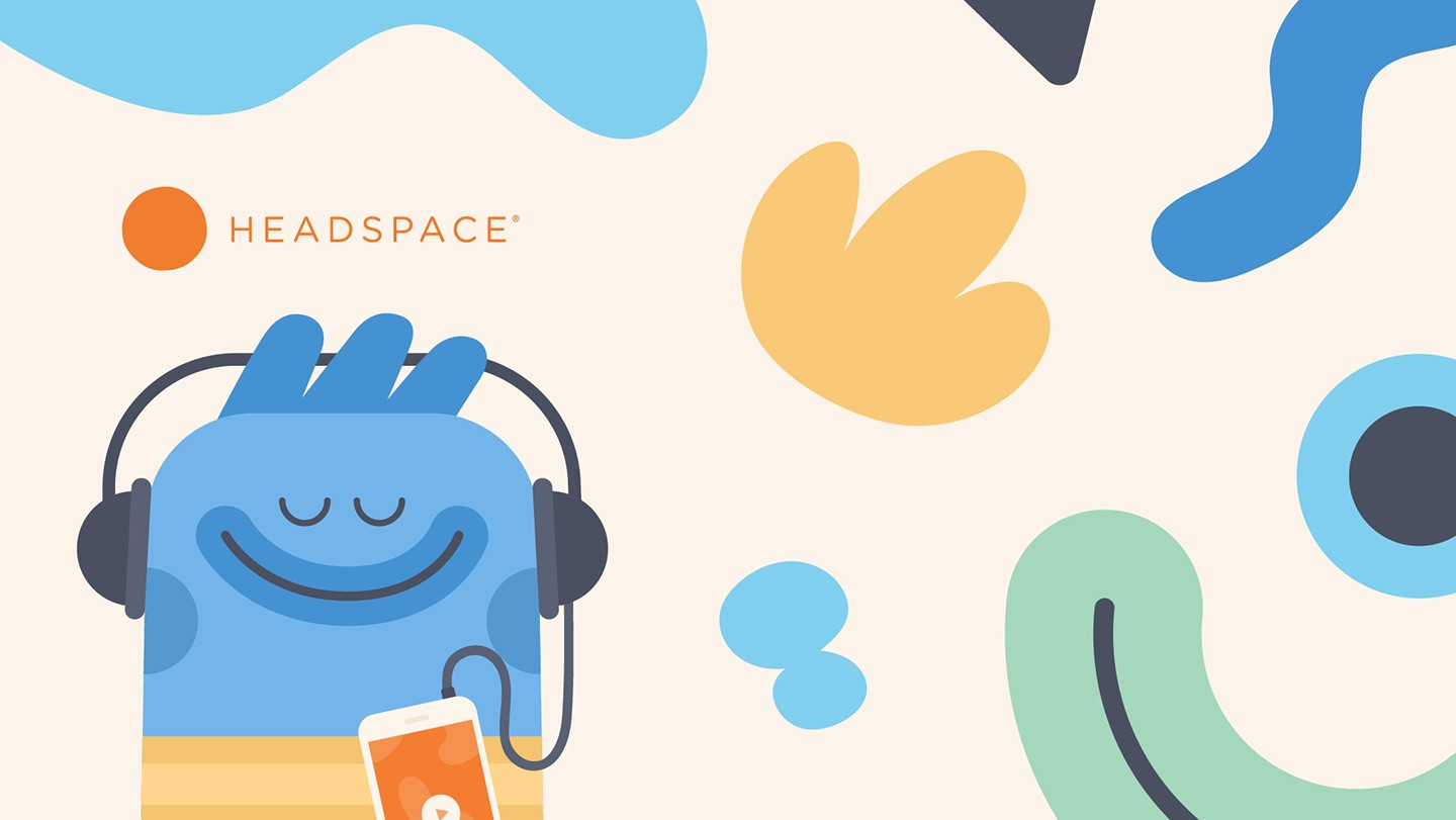 Headspace offers guided meditation to help you relieve stress.