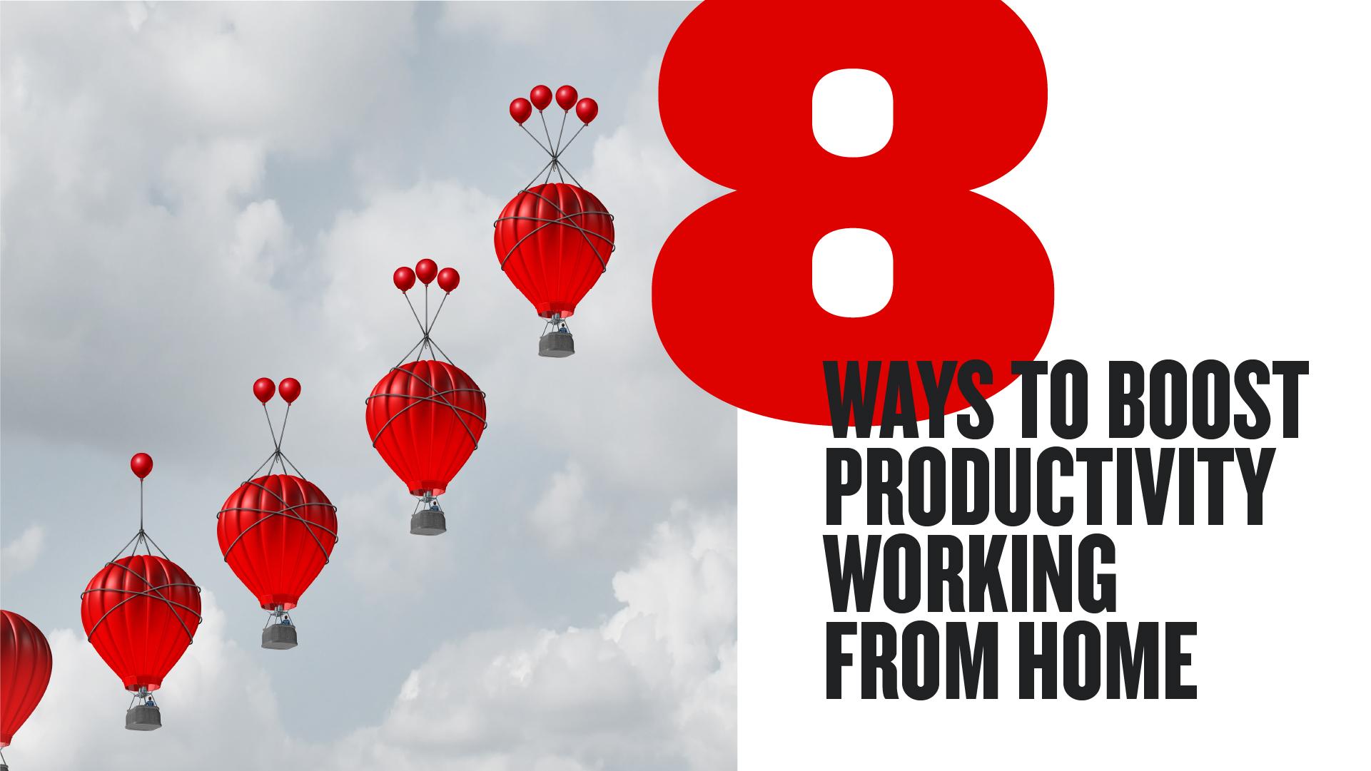 8种促进家庭工作的生产力的方法