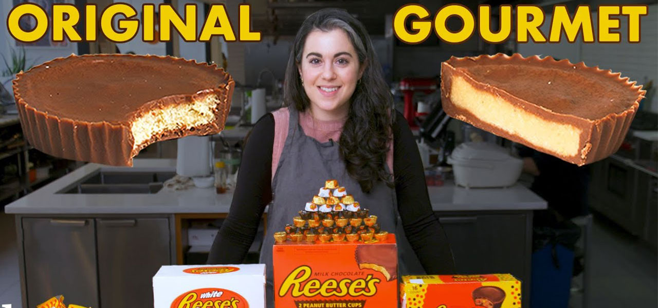 Watch pastry chef Claire Saffitz turn your favorite junk food into gourmet delicacies.