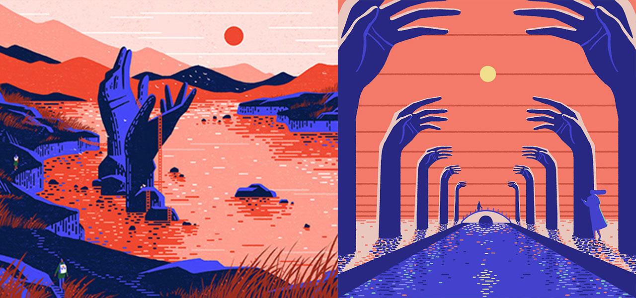 Yukai Do, illustrator and animator, creates brightly colored, dreamlike worlds.
