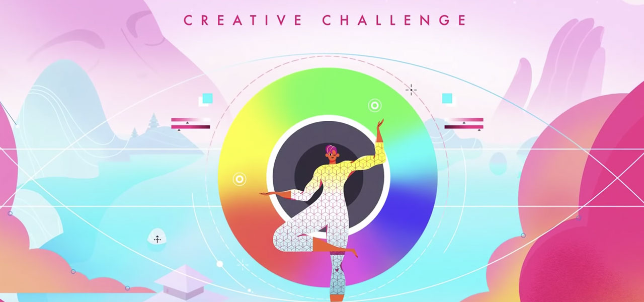 Check out Behance's weekly creative challenge.