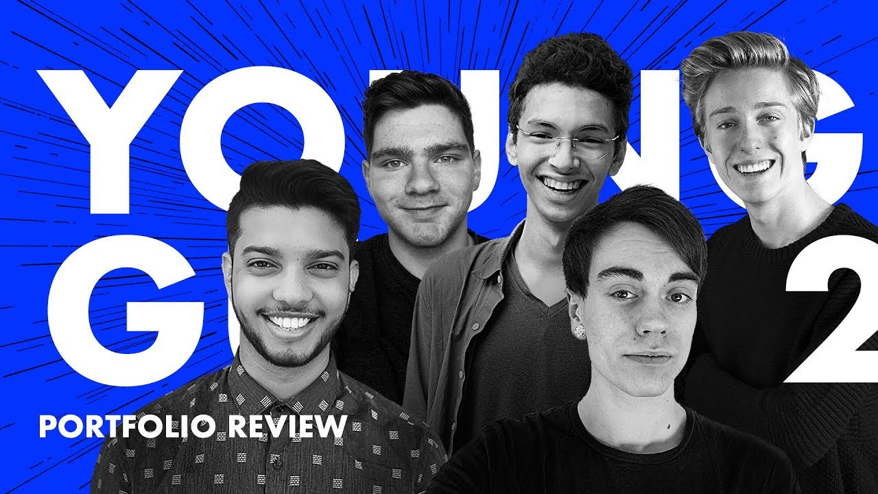 Designer Portfolio Reviews — Young Guns Ep.2