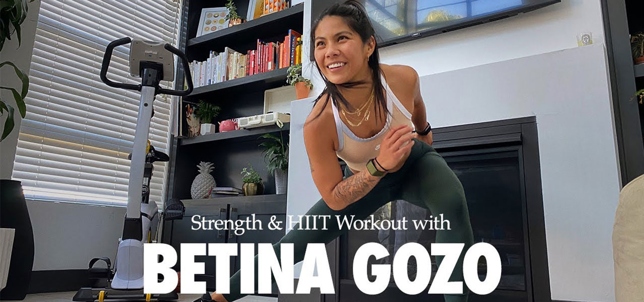 Follow along Nike Master Trainer Betina Gozo for this at-home workout.